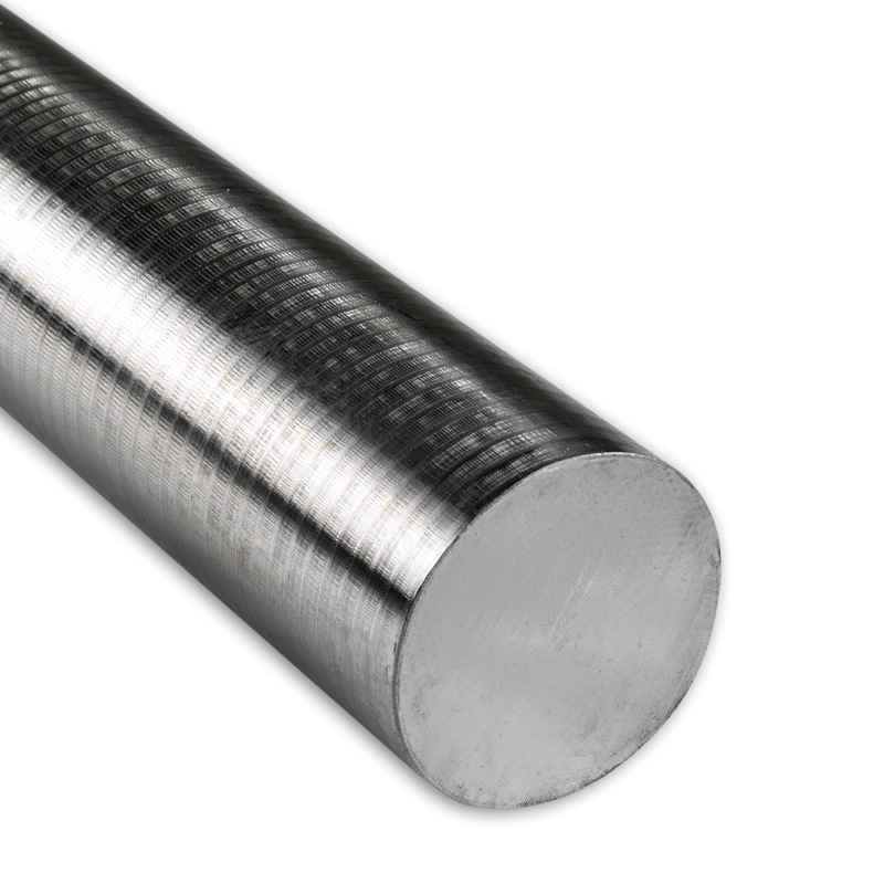 """8/"""" Length 1 1//2/"""" Dia Extruded 1.50 inch Dia 304 Stainless Steel Round Rod"""