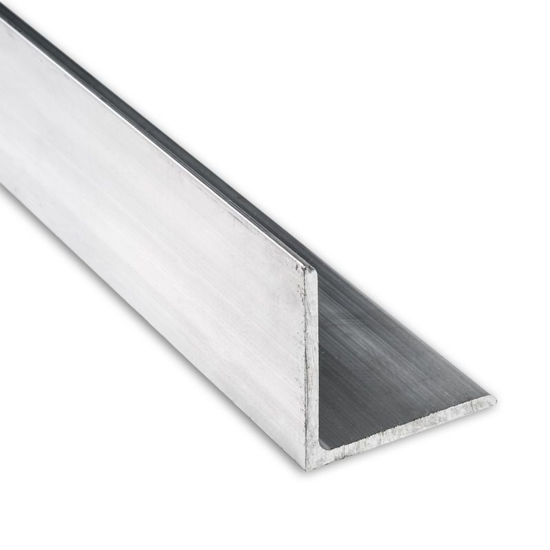 "Aluminum Angle 6061 T6 3/"" x 3/"" x 3//16/"" wall x 72/"""