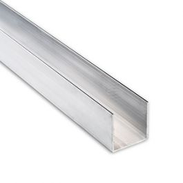 Aluminum Channel 6063 T52 Architectural 2 5 A X 2 5 B