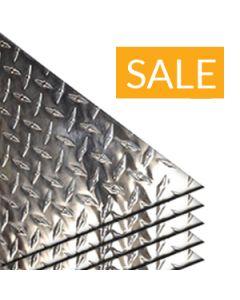 Aluminum Diamond Tread Plate 3003-H22 5Pack